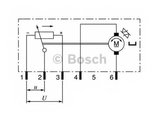 Регулировочный элемент угла наклона фар BOSCH 0 132 801 141 - изображение 2