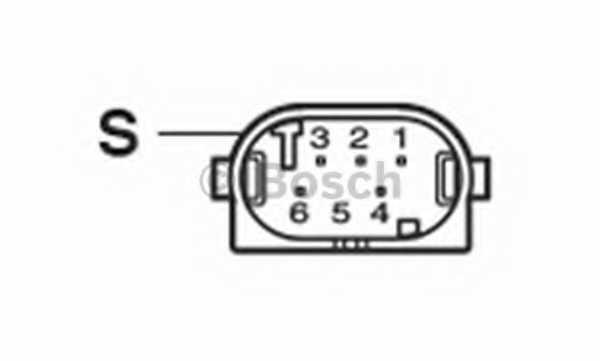 Регулировочный элемент угла наклона фар BOSCH 0 132 801 141 - изображение 3