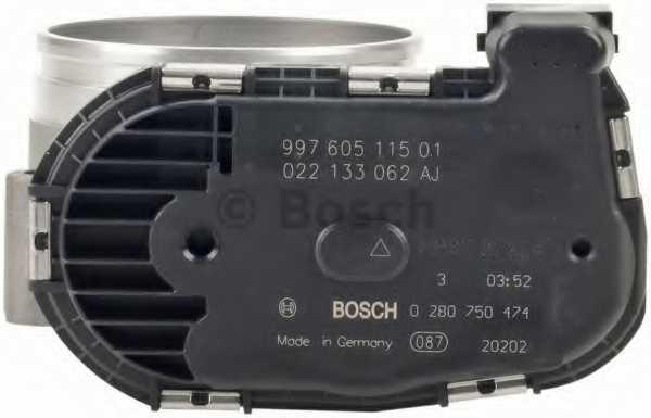 Патрубок дроссельной заслонки BOSCH 0 280 750 474 - изображение