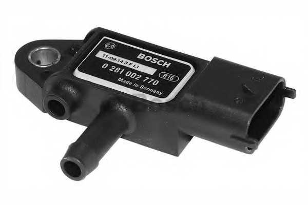 Датчик, давление выхлопных газов BOSCH 0 281 002 770 - изображение