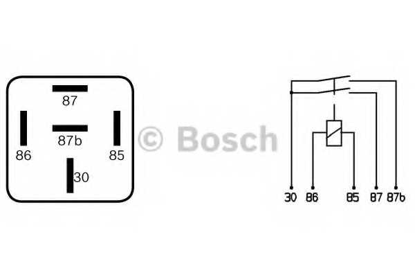 Реле рабочего тока BOSCH 0 332 015 006 - изображение 2