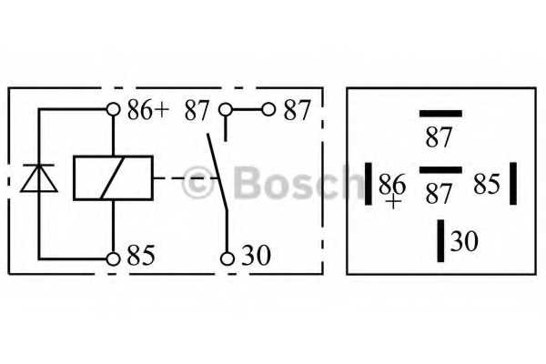 Реле рабочего тока BOSCH 0 332 019 109 - изображение 2