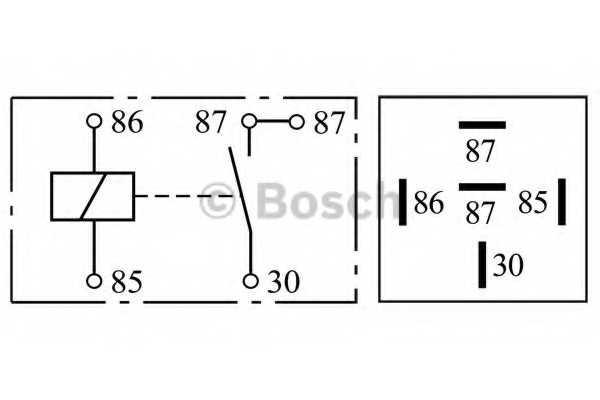 Реле рабочего тока BOSCH 0332019203 - изображение 2