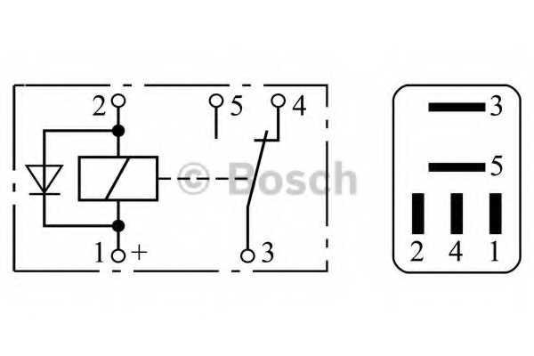 Реле рабочего тока BOSCH 0 332 207 304 - изображение 2
