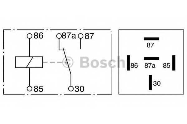 Реле рабочего тока BOSCH 0 332 209 211 - изображение 2