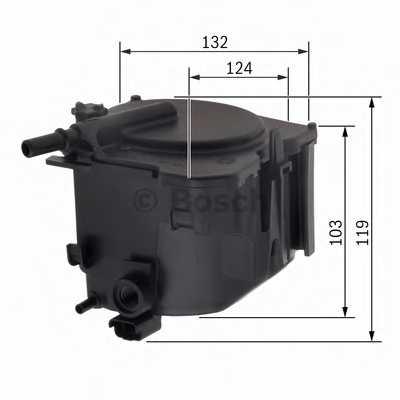 Фильтр топливный BOSCH 0 450 906 471 - изображение