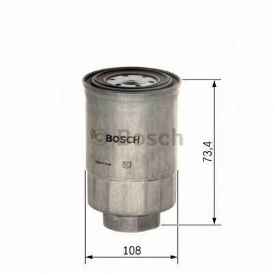 Фильтр топливный BOSCH 1 457 434 450 - изображение