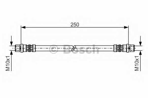Тормозной шланг BOSCH  / 1987476309 - изображение