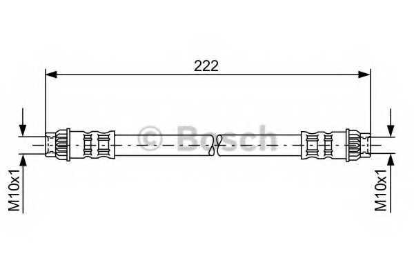 Тормозной шланг BOSCH 1 987 476 914 - изображение