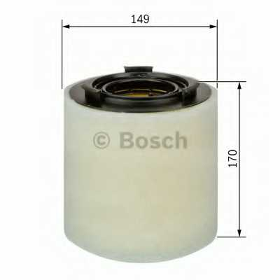 Фильтр воздушный BOSCH F 026 400 391 - изображение