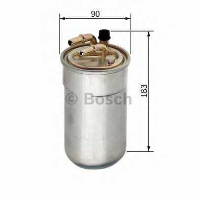 Фильтр топливный BOSCH F 026 402 051 - изображение