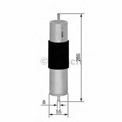 Фильтр топливный BOSCH F 026 402 095 - изображение