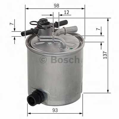 Фильтр топливный BOSCH F 026 402 096 - изображение