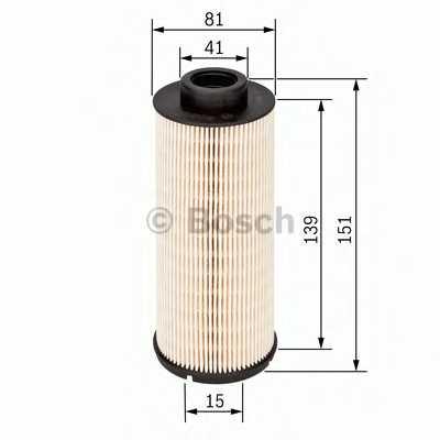 Фильтр топливный BOSCH F 026 402 099 - изображение