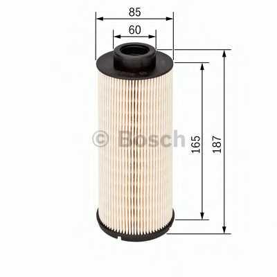 Фильтр топливный BOSCH F 026 402 100 - изображение