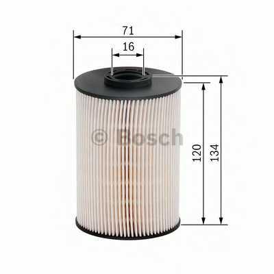 Фильтр топливный BOSCH F 026 402 101 - изображение