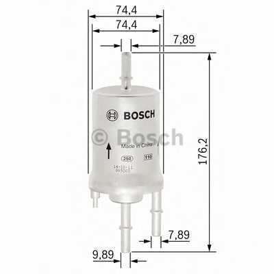 Фильтр топливный BOSCH F 026 403 003 - изображение