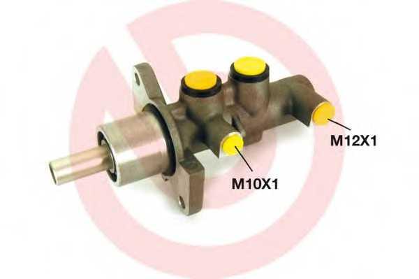 Главный тормозной цилиндр BREMBO M 59 020 - изображение