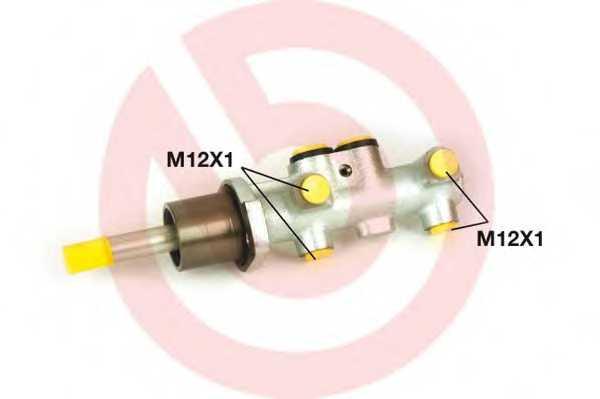 Главный тормозной цилиндр BREMBO M 85 039 - изображение