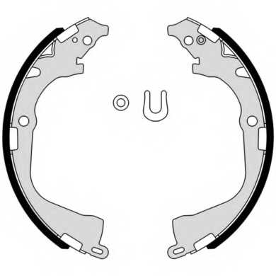 Комплект тормозных колодок BREMBO S 85 541 - изображение