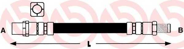 Тормозной шланг BREMBO T06013 - изображение