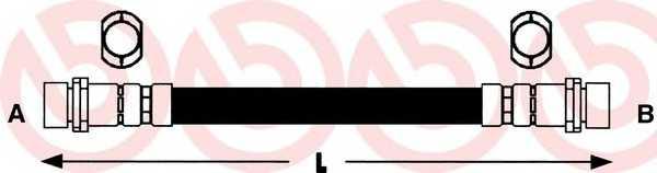 Тормозной шланг BREMBO T 24 036 - изображение