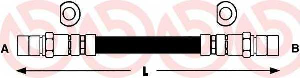 Тормозной шланг BREMBO T 59 002 - изображение