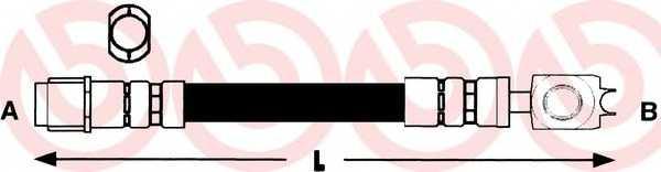Тормозной шланг BREMBO T 85 026 - изображение