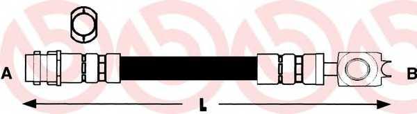 Тормозной шланг BREMBO T 85 028 - изображение