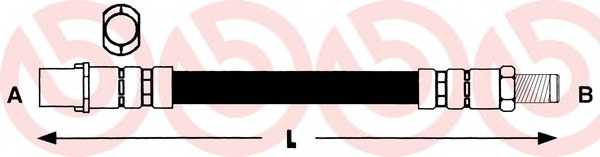 Тормозной шланг BREMBO T 85 065 - изображение