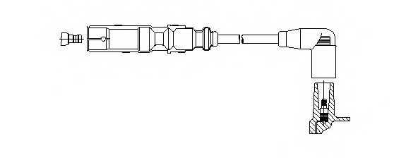 Провод зажигания BREMI 162/61 - изображение