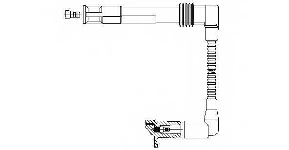 Провод зажигания BREMI 196/42 - изображение