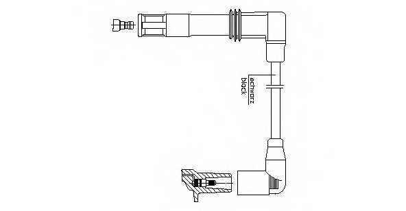 Провод зажигания BREMI 1A13/33 - изображение