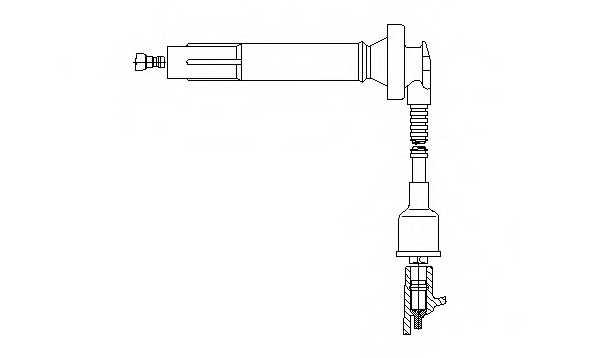 Провод зажигания BREMI 3A60E46 - изображение