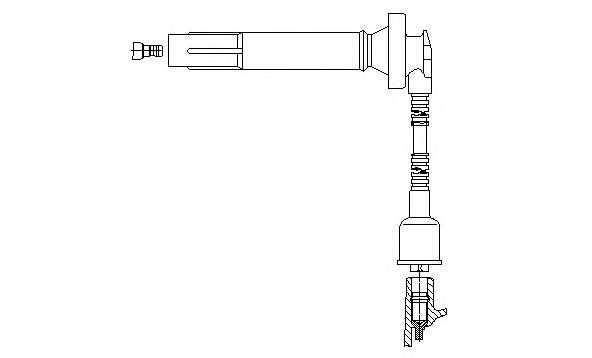 Провод зажигания BREMI 3A60F64 - изображение