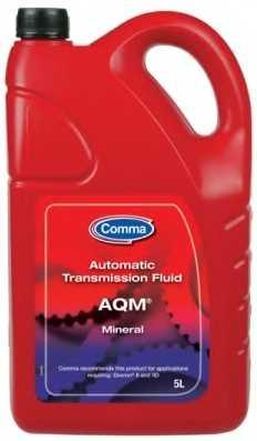 Масло трансмиссионное 5л Comma Automatic Transmisson Fluid AQM ATM5L - изображение