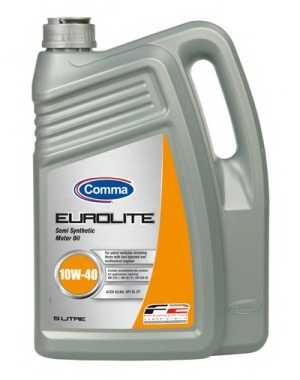Масло моторное полусинтетическое 5л 10w40 SL/CF Comma Eurolite EUL5L - изображение