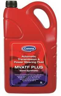 Масло трансмиссионное полусинтетическое 5л Comma Multi-vehicle ATF and PSF MVATF5L - изображение