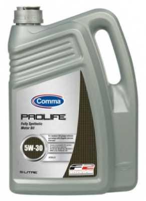 Масло моторное синтетическое 5л 5w30 Comma PROLIFE PRO5L - изображение