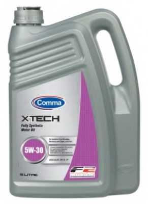 Масло моторное синтетическое 5л 5w30 SL/CF Comma Xtech XTC5L - изображение