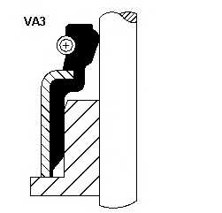 Уплотнительное кольцо стерженя клапана CORTECO VSB / 19035929 - изображение