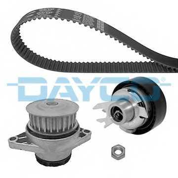 Водяной насос + комплект зубчатого ремня DAYCO KTBWP2560 - изображение