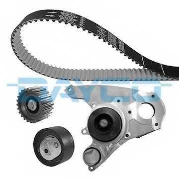 Водяной насос + комплект зубчатого ремня DAYCO KTBWP3390 - изображение