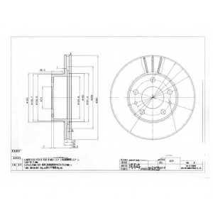 Тормозной диск DELPHI BG2846 - изображение