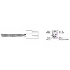 Лямбда-зонд DELPHI ES10880-12B1 - изображение
