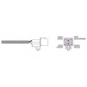 Лямбда-зонд DELPHI ES20214 - изображение