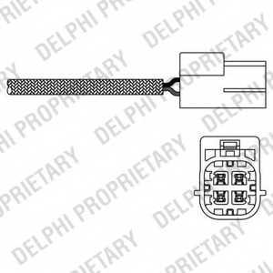 Лямбда-зонд DELPHI ES20220-12B1 - изображение