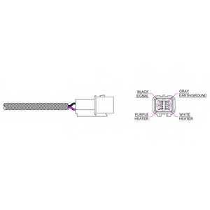 Лямбда-зонд DELPHI ES20227 - изображение