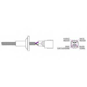 Лямбда-зонд DELPHI ES20324 - изображение
