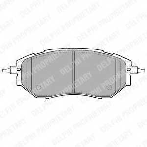 Колодки тормозные дисковые для SUBARU FORESTER(SJ), LEGACY(B13#,BL,BM,BP,BR), TRIBECA(B9) <b>DELPHI LP1941</b> - изображение